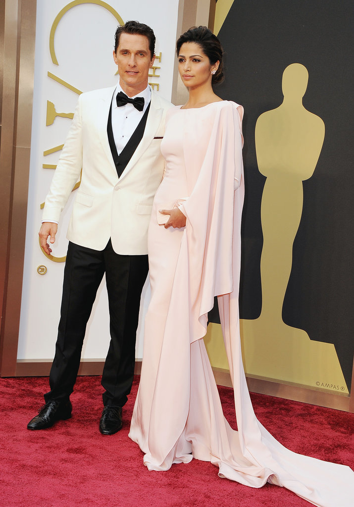 Matthew McConaughey and Camila Alves made an elegant pair on the red carpet.