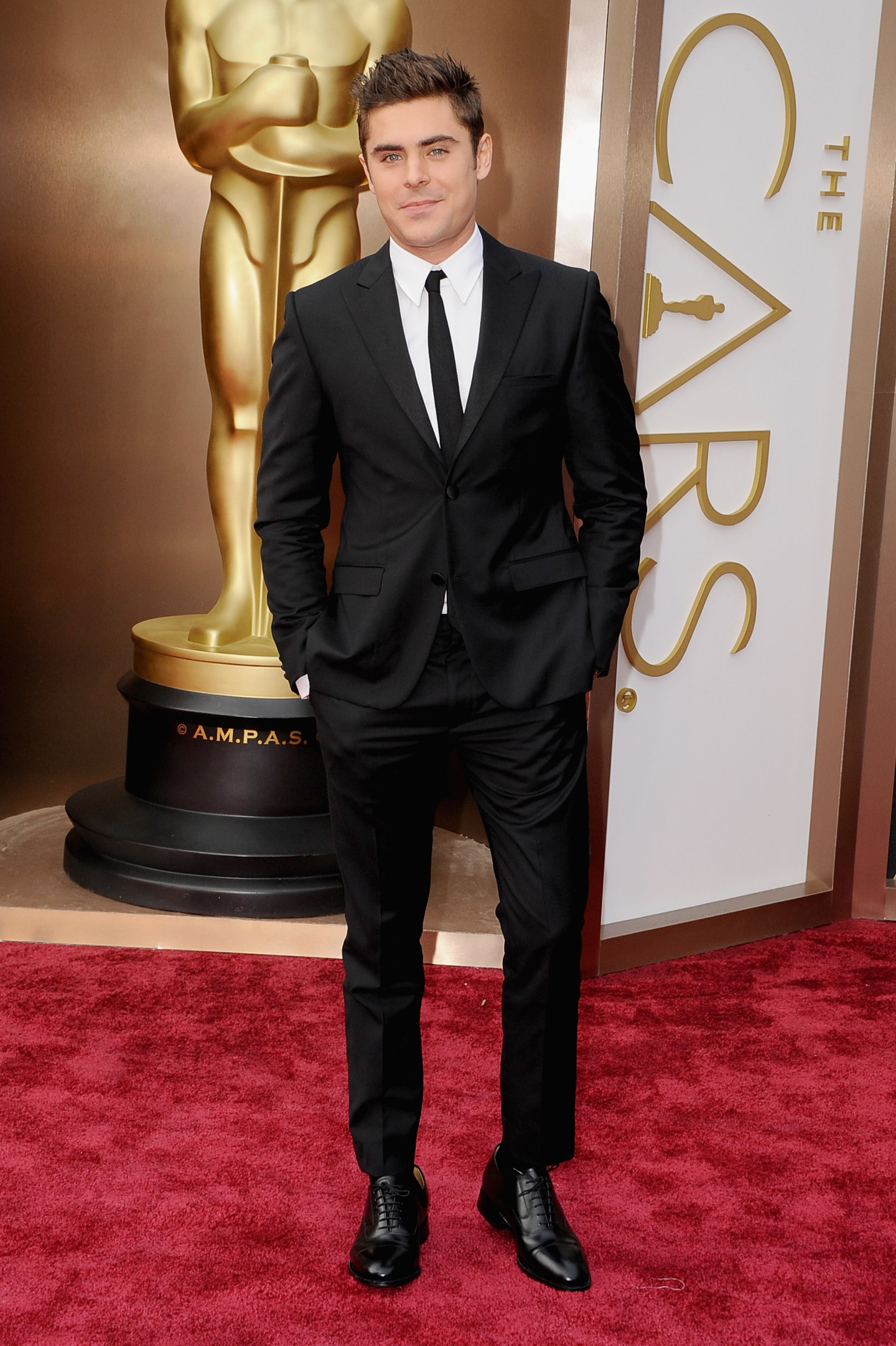 Zac Efron  The Stars Come Out  Zac Efron 2014 Oscars