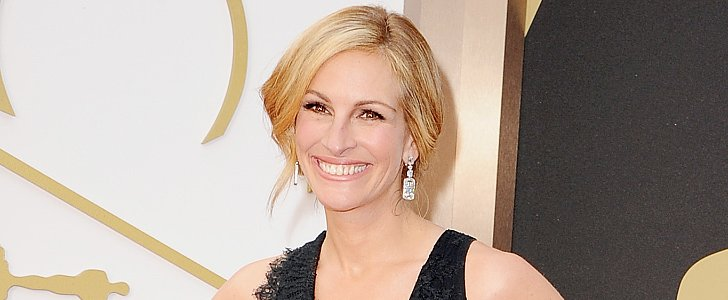 Julia Roberts Debuts Blond Hair on the Oscars Carpet — Like It?