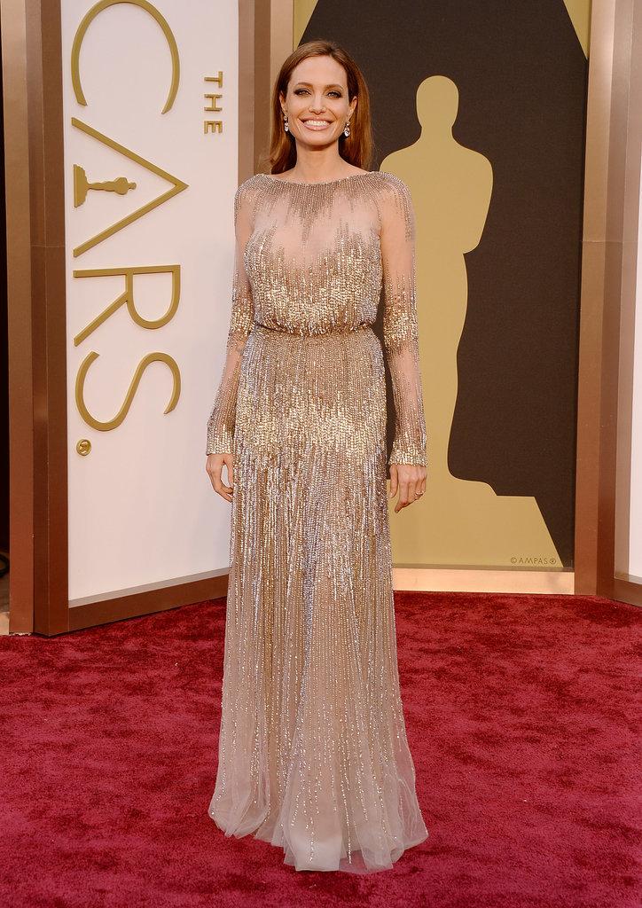 Angelina Jolie at the 2014 Oscars