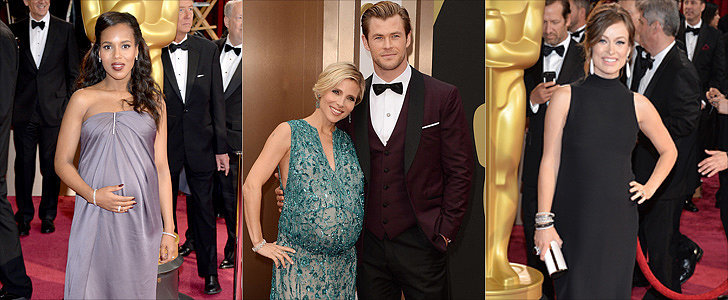 Which Pregnant Celeb's Oscars Look Gets Your Vote?