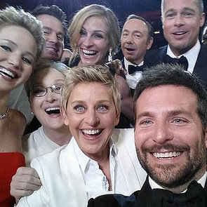Ellen DeGeneres Selfie During the Oscars | Picture