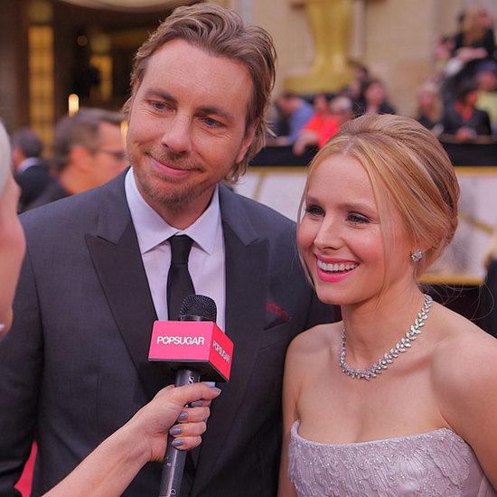 Kristen Bell and Dax Shepard 2014 Oscars Interview (Video)