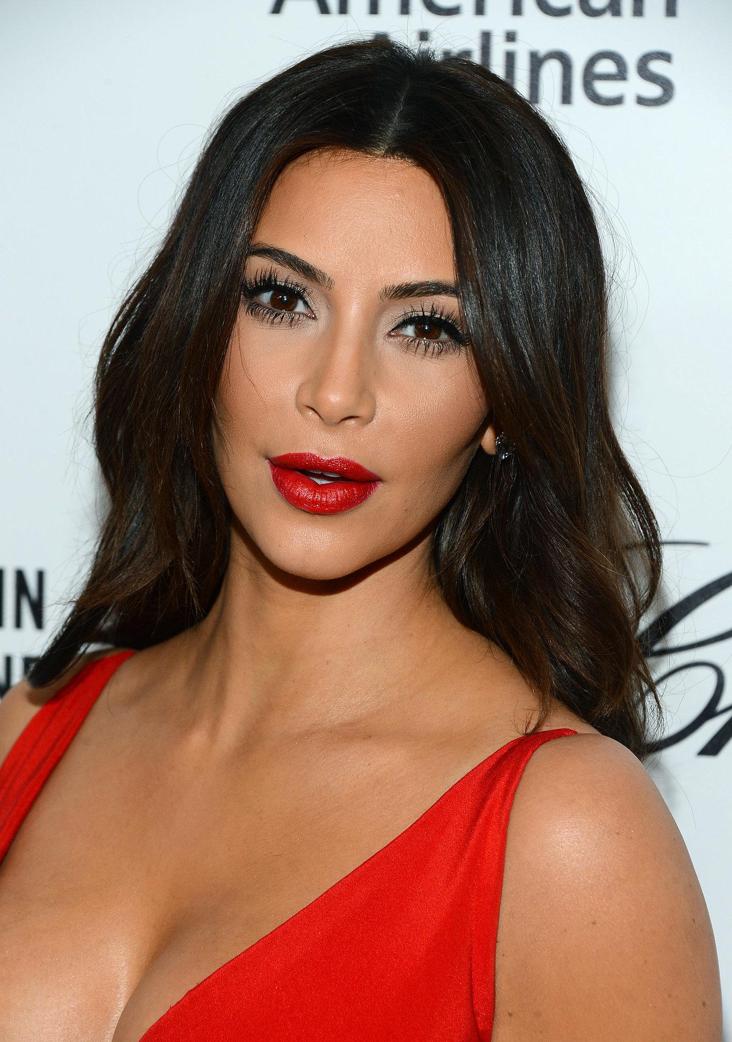Kim Kardashian at Elton John Party