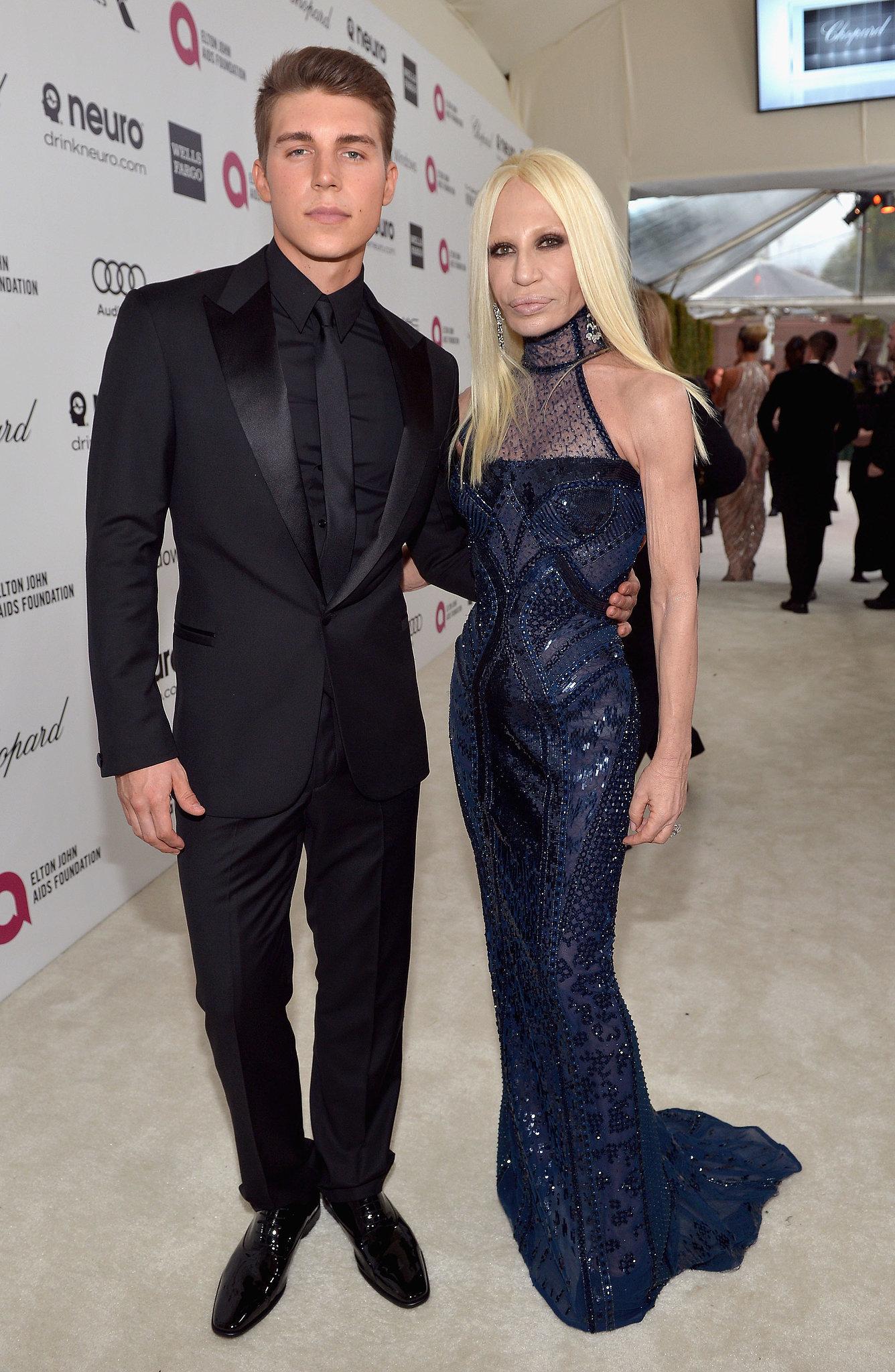 Nolan Gerard Funk and Donatella Versace