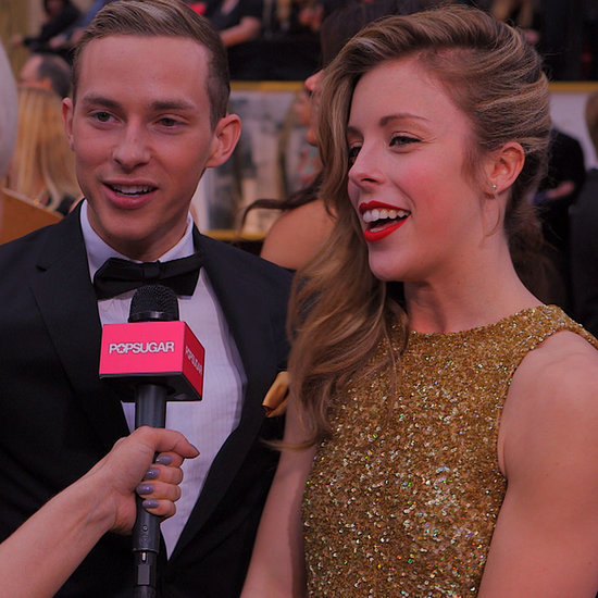 Ashley Wagner Interview at the 2014 Oscars | Video