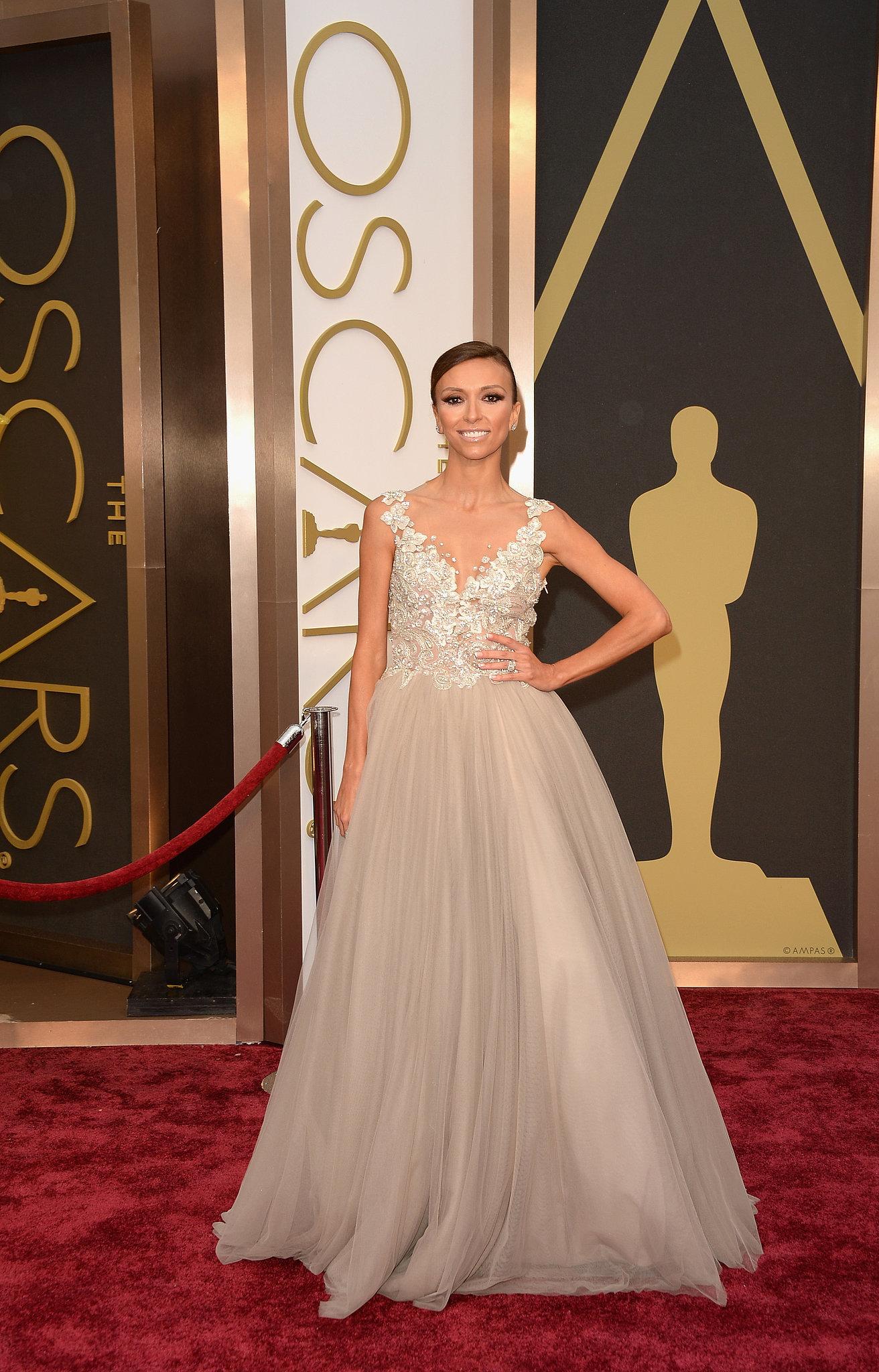 Giuliana Rancic at the 2014 Oscars