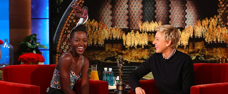 "Does Lupita Feel ""Upstaged"" by Her Younger Brother in the Record-Breaking Oscars Selfie?"