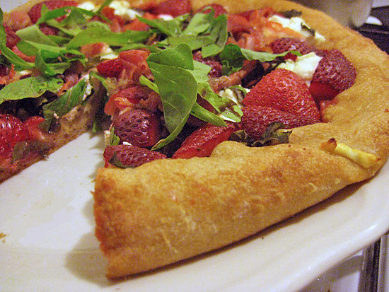 Strawberry Arugula Pizza