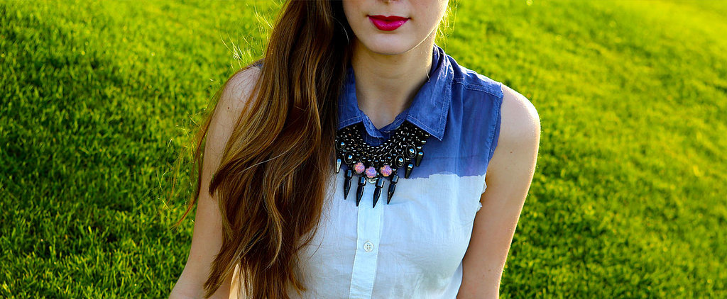 DIY: Cool Ombré Shirt