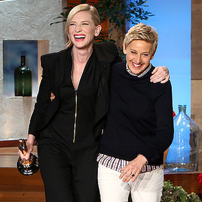 Cate Blanchett Interview on The Ellen Show After 2014 Oscars