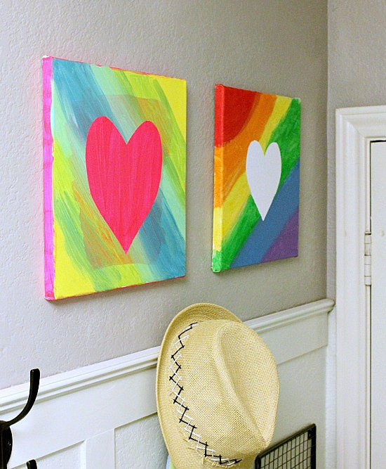easy canvas art 9 cool ways kids can turn a blank canvas
