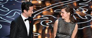 Emma Watson and Joseph Gordon-Levitt Make the Oscars Couple of Our Dreams