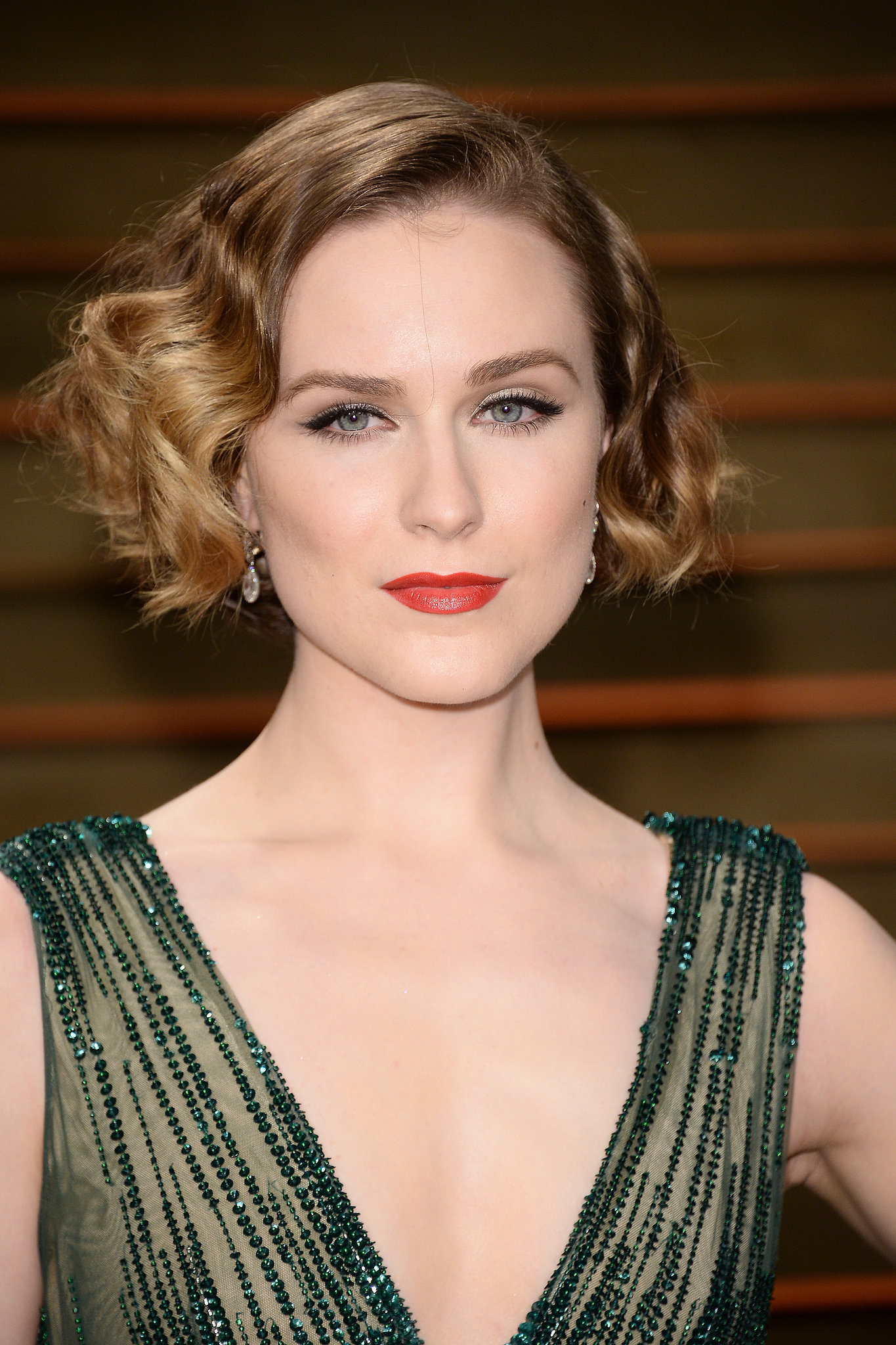 Evan Rachel Wood at Vanity Fair Party | The Golden Ticket ... Evan Rachel Wood