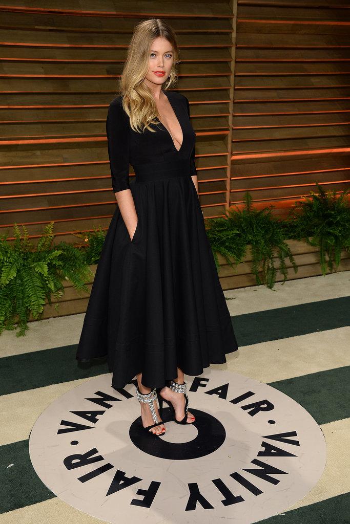 Doutzen Kroes at the 2014 Vanity Fair Oscars Party