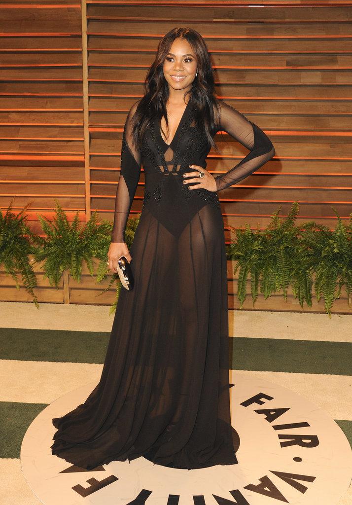 Regina Hall at the 2014 Vanity Fair Oscars Party