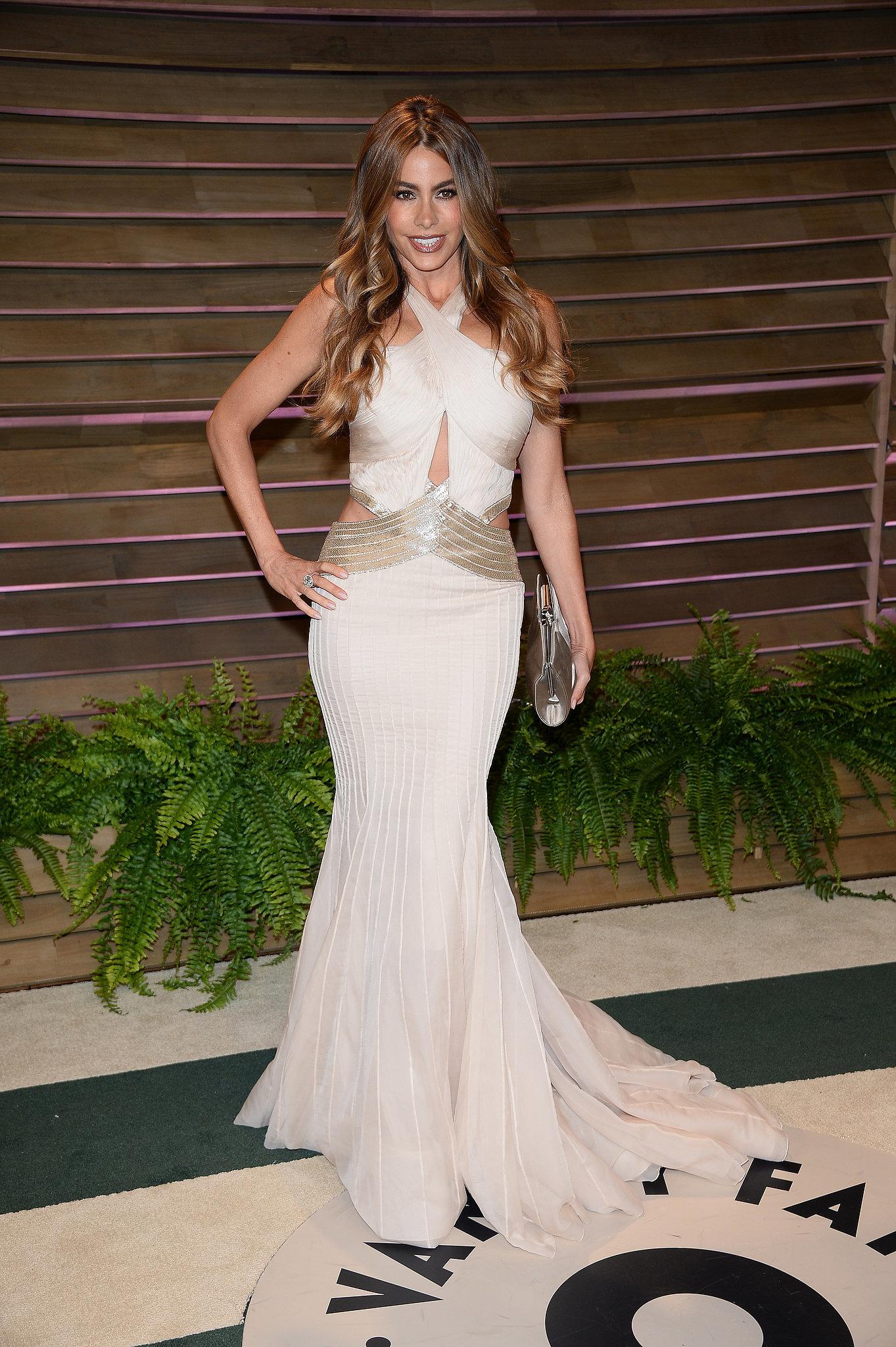 Sofia Vergara at the 2014 Vanity Fair Oscars Party