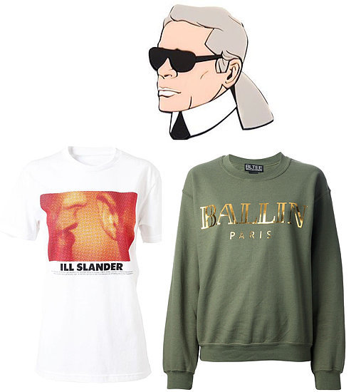 Fashion Slogan Tees and Parody Items