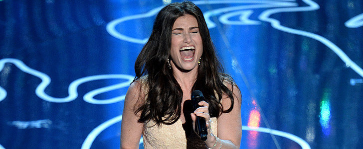 "Watch Idina Menzel Belt Out ""Let It Go"" at the Oscars"