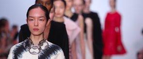 Giambattista Valli's Models Look Like They Just Got Facials