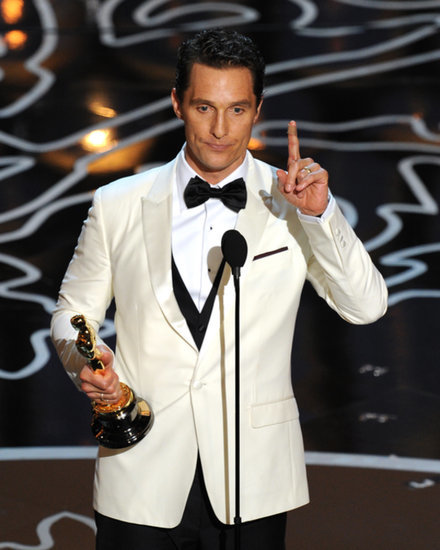 Matthew McConaughey's Recipe For an Awesome Acceptance Speech