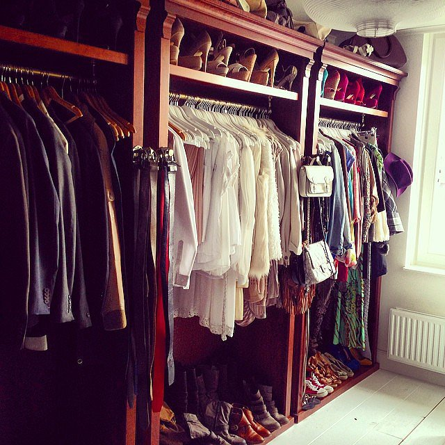 Check out how instagram user expertly arranges all her clothes