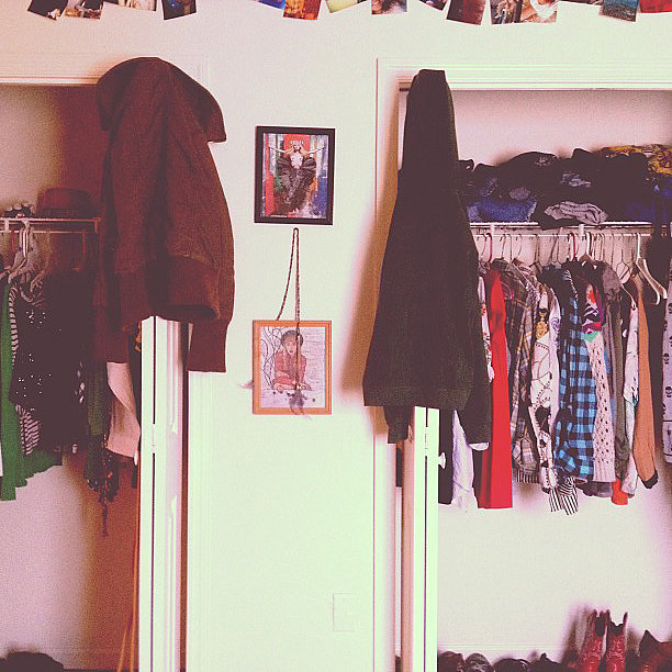 One thing makes great closet when reflects