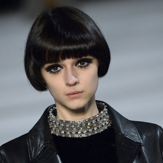 Saint Laurent Fall 2014 Hair and Makeup | Runway Pictures