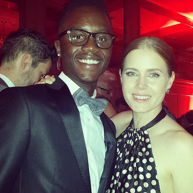 "Amy Adams Told Him He Looked ""Stunning"""