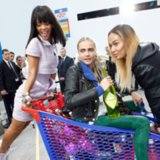 Rihanna and Cara Delevingne Chanel Grocery Store Fall 2014