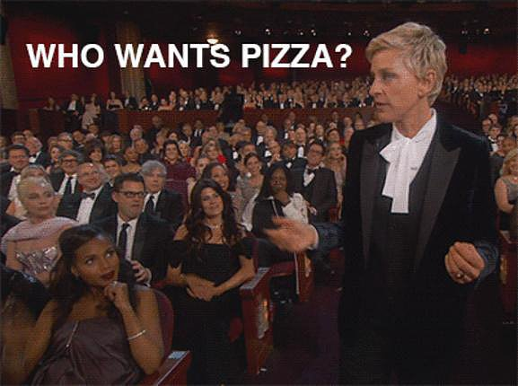 Most Enthusiastic Pizza Supporter: Kerry Washington
