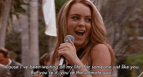 In a music video for the movie, Lindsay showed us she had total pop star potential.