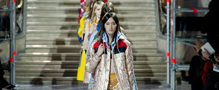 Miu Miu Is Putting Mustard-Colored Eye Shadow on the Map