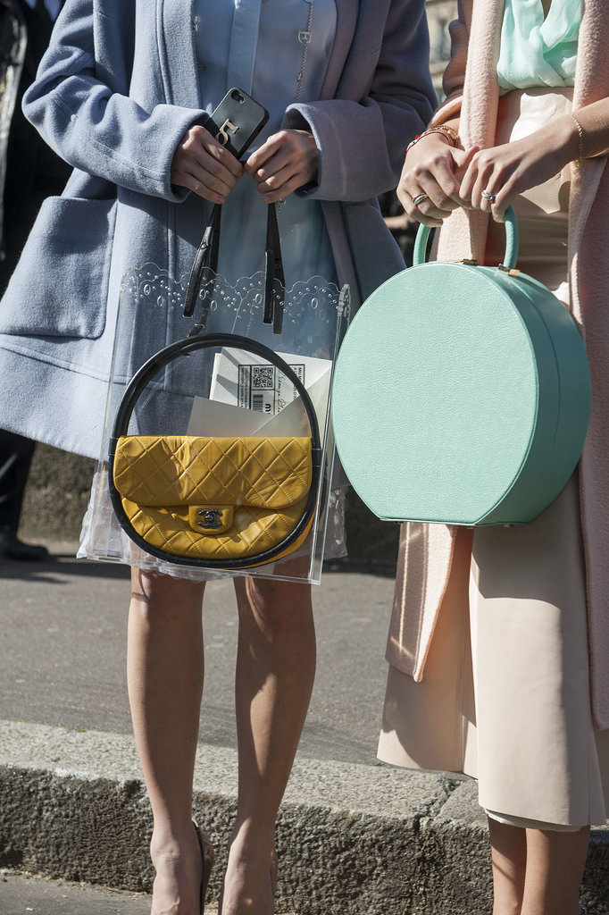 Twinning, from their pastels to their circular carry-alls.