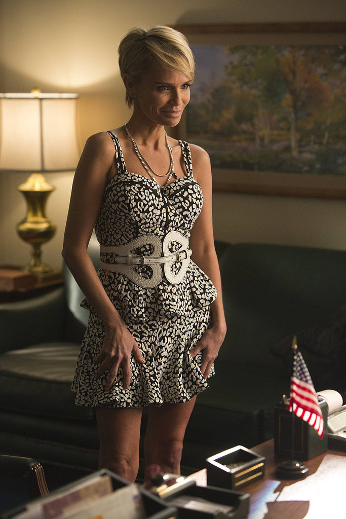 Kristin Chenoweth will return as her character, April Rhodes.