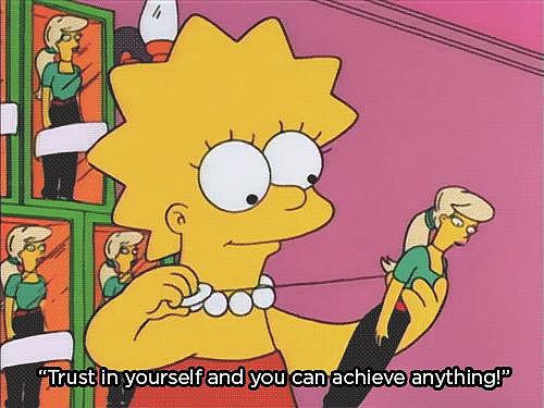 """Lisa vs. Malibu Stacy"""