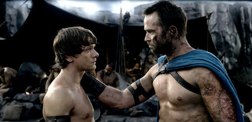 Jack O'Connell and Sullivan Stapleton, 300: Rise of an Empire