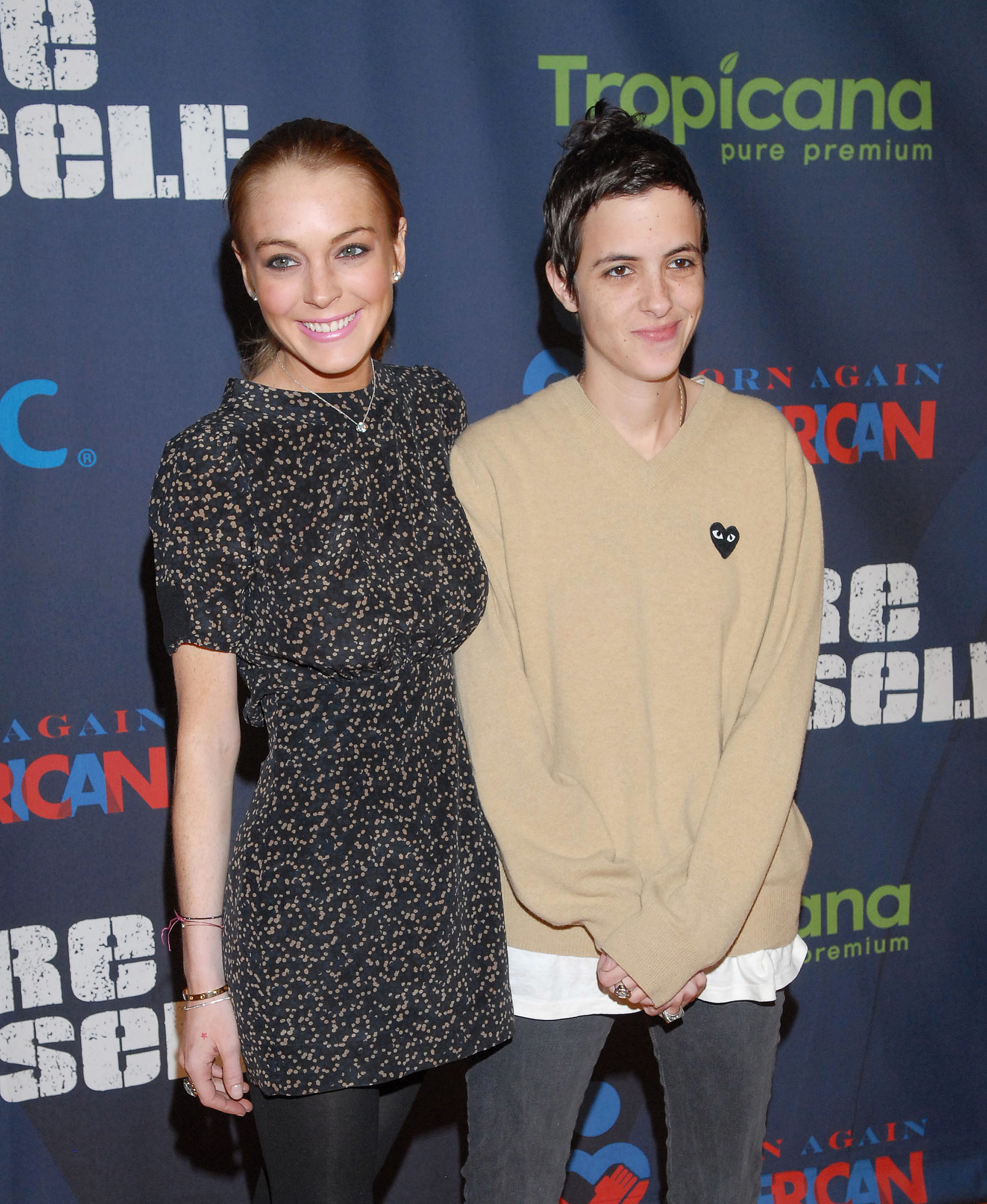 For a while there, it looked like she found true love in Samantha Ronson. She showed us how committed she could be.