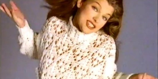 Milla Jovovich Couldn't Get Any Cooler In This '90s Almay Commercial (VIDEO)