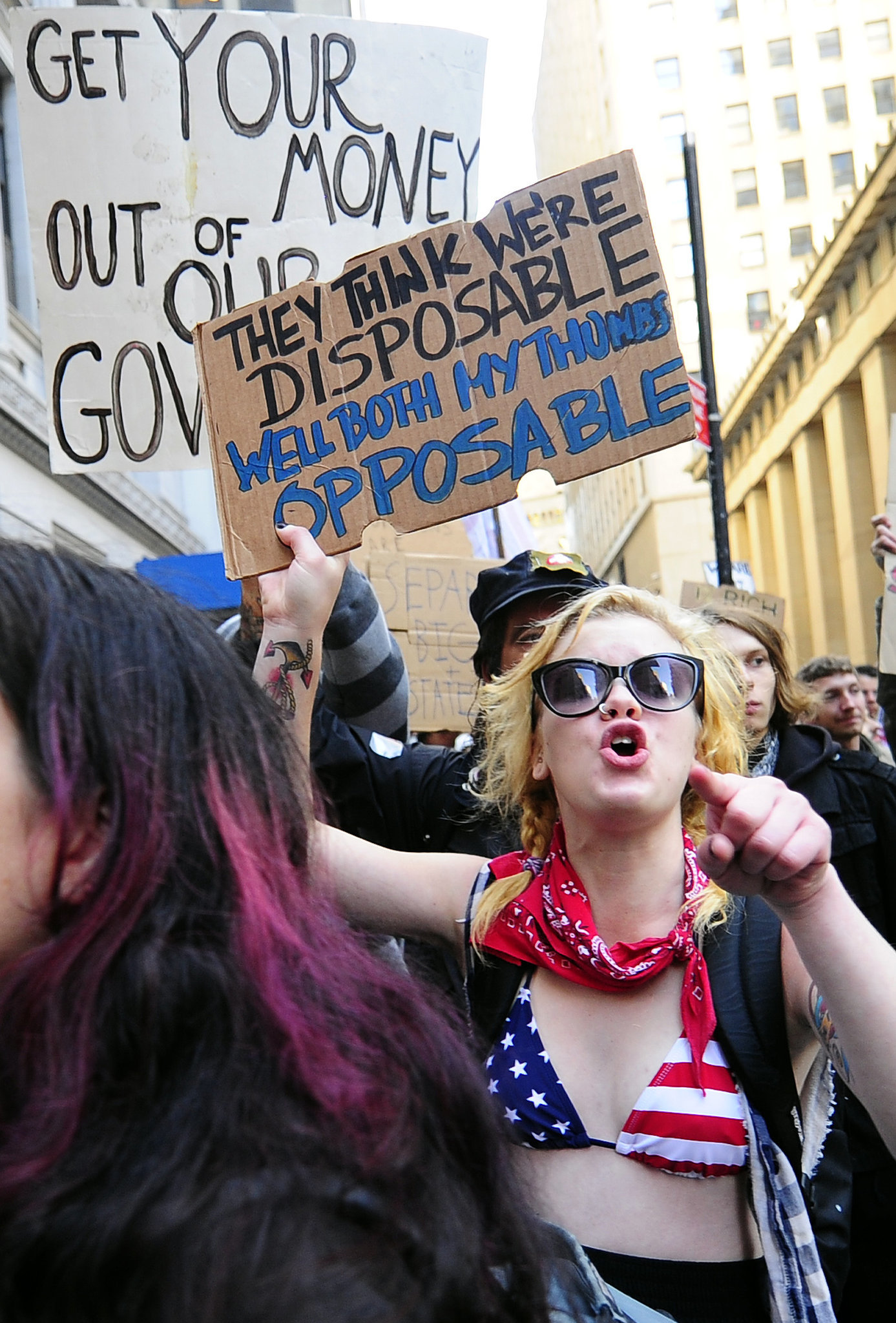 Occupy Wall Street in US, 2011