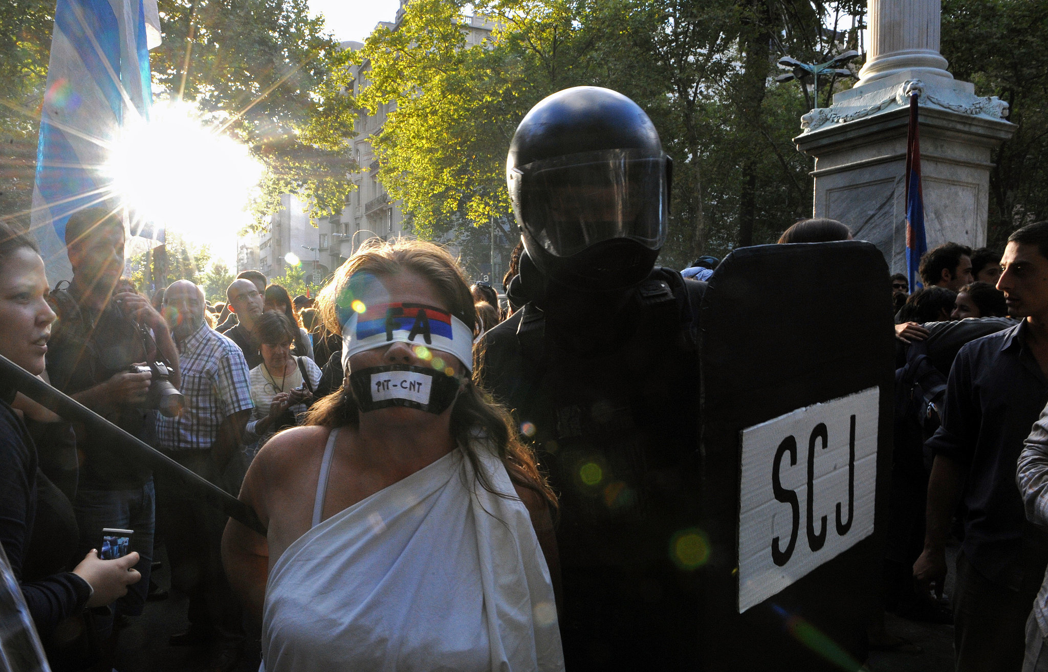 Human Rights Protest in Uruguay, 2013