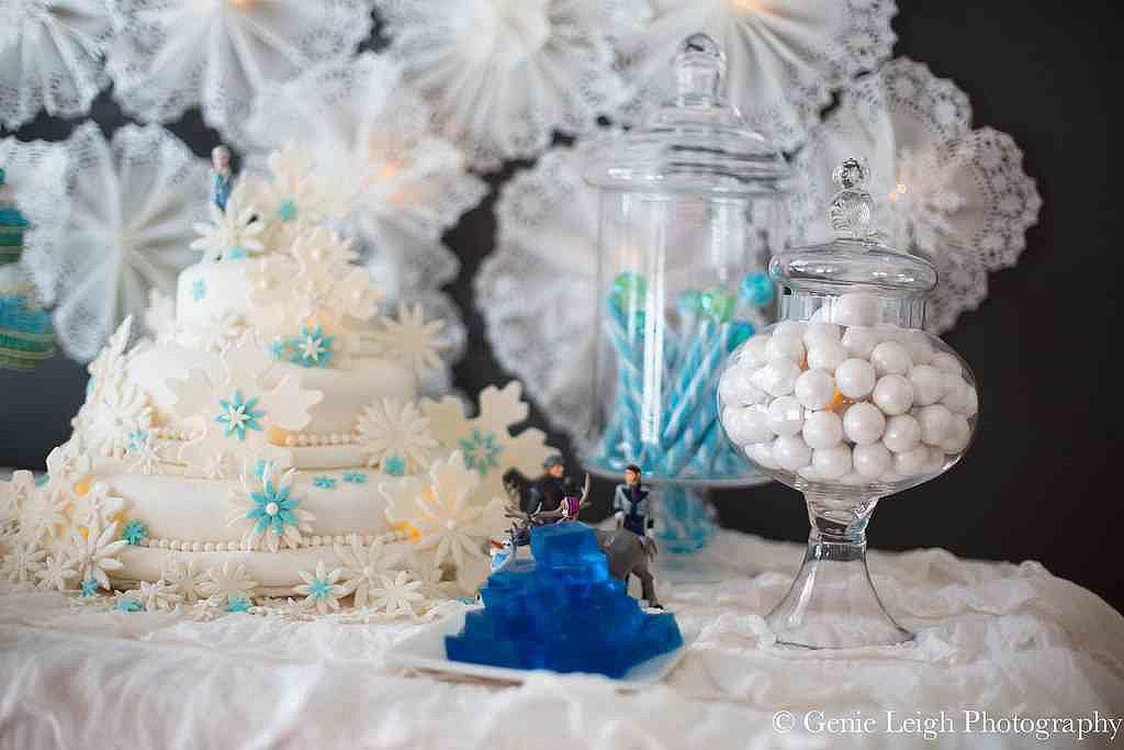 A Frozen-Inspired Birthday Bash