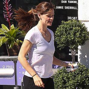 Ben Affleck Picks Jennifer Garner Up at the Spa | Photos