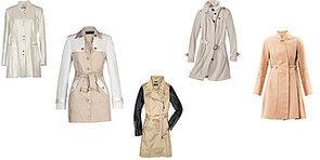 Trenchcoats in beige