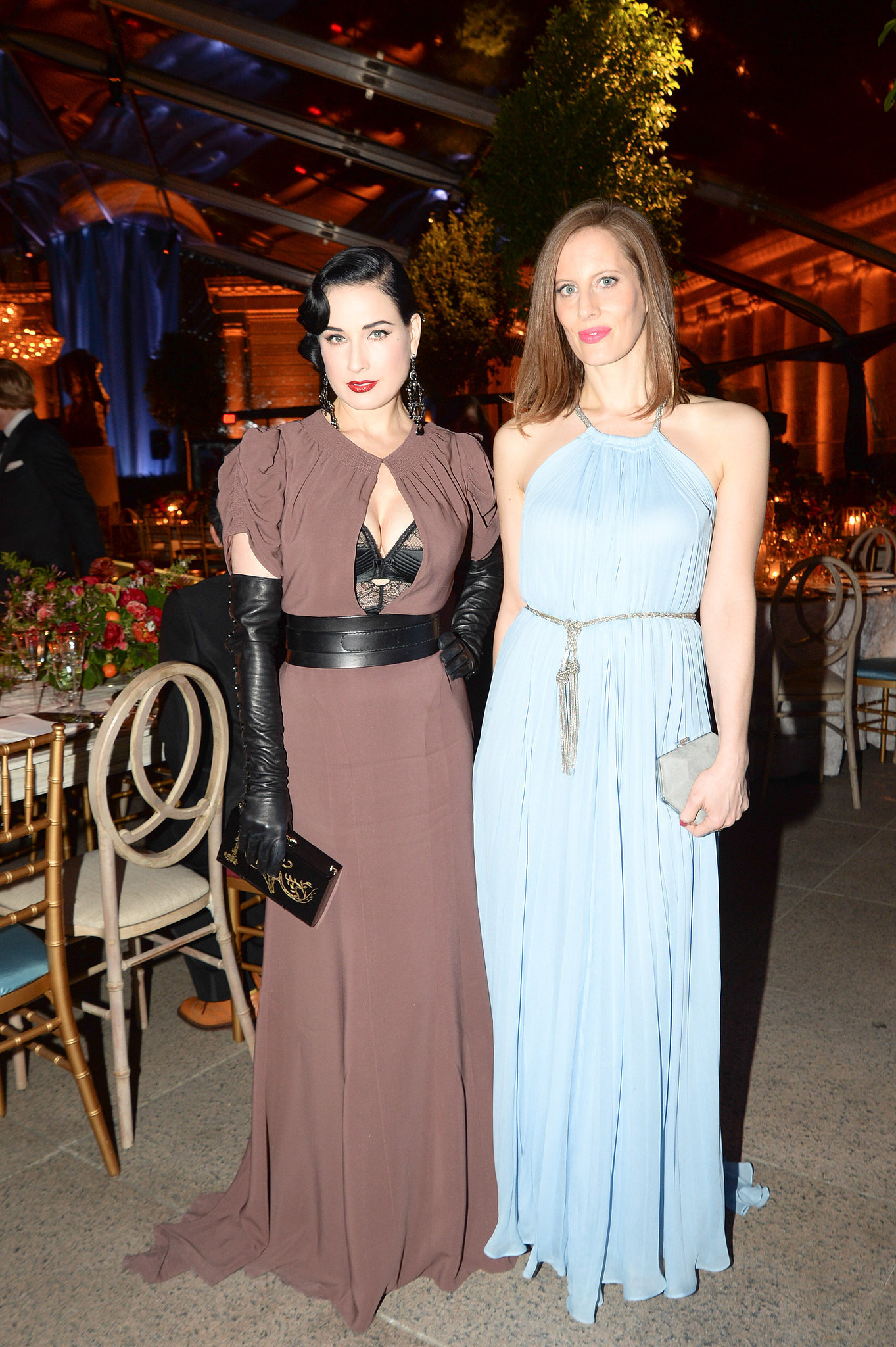 Dita Von Teese and Liz Goldwyn