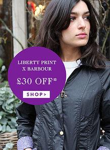 Liberty Print Barbour Coats Discount Code