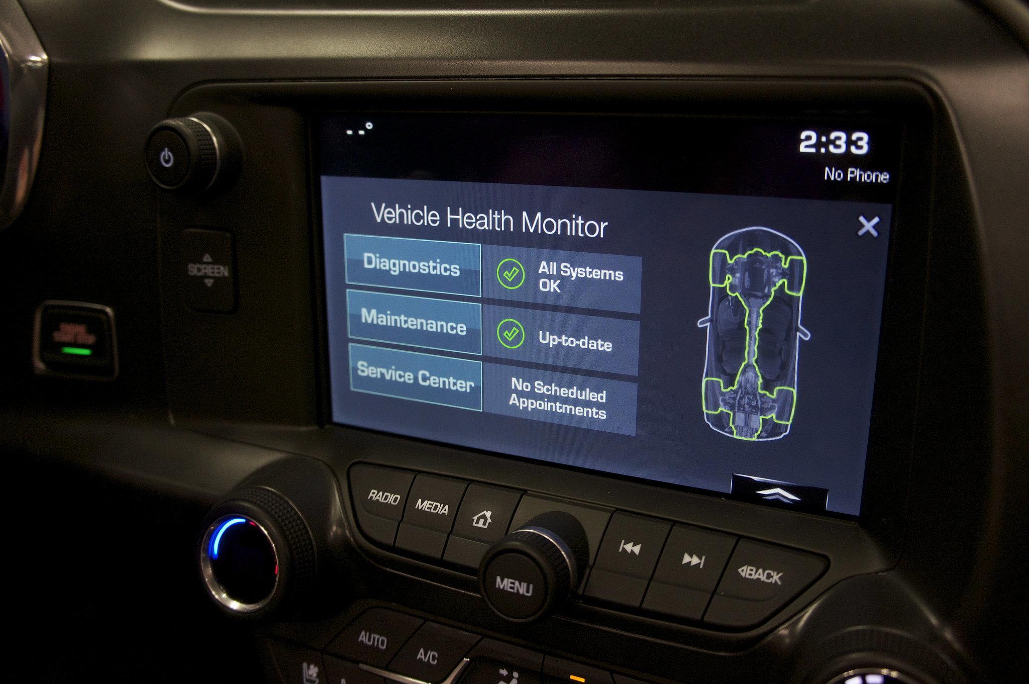 "Chevy ""Vehicle Health Monitor"""