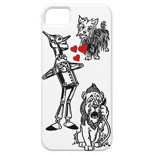 Tin Man, Cowardly Lion, and Toto Case ($40) for iPhone 5