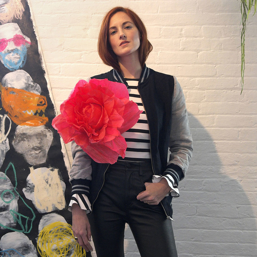 Taylor Tomasi Hill Wearing Zara