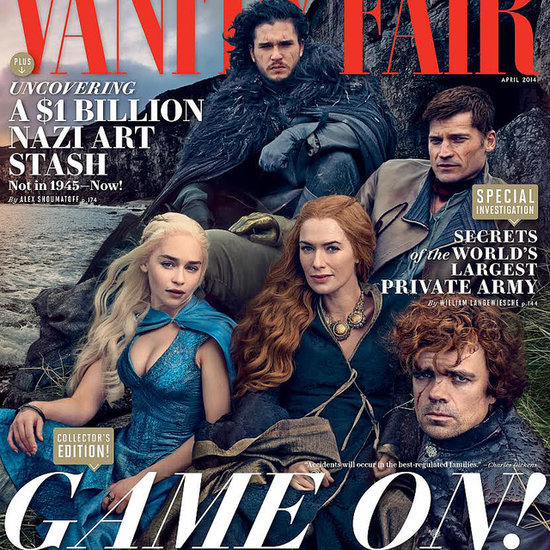 Game of Thrones Cover For Vanity Fair April 2014